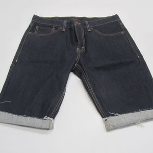 LEVI'S 511 Factory Cut-Off Jean Shorts Mens 32